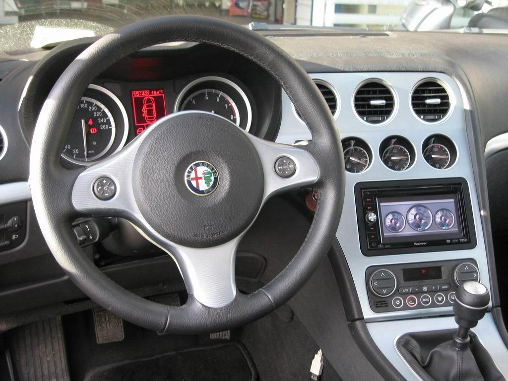 autoradio Alfa Brera